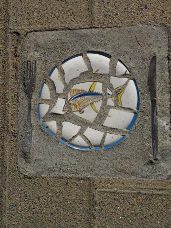 Marahau, Nowa Zelandia: Quirky tile