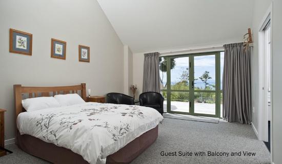 Kaiteriteri, Nueva Zelanda: Split Apple Lodge - Sea View Room