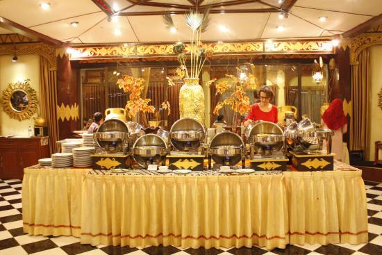 Buffet Setting At Gazebo Shinta Purawisata Picture Of