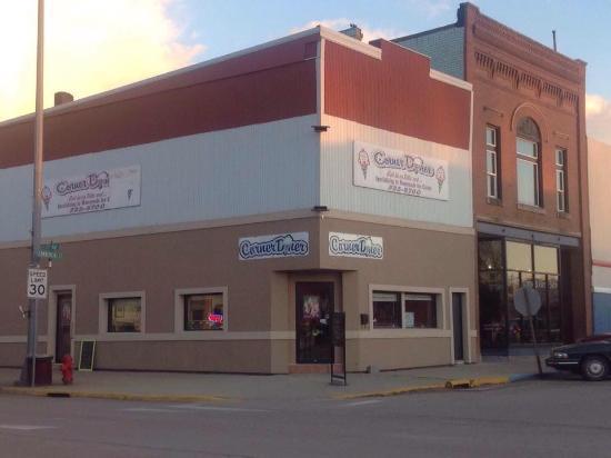 Clark, Южная Дакота: The Corner Diner