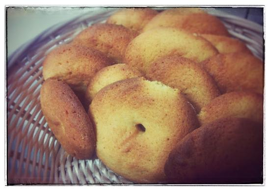 Oderzo, Italia: Biscotti per la prima colazione fatti da noi