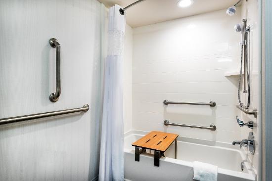 Hampton Inn and Suites Florence-Civic Center: ADA Tub