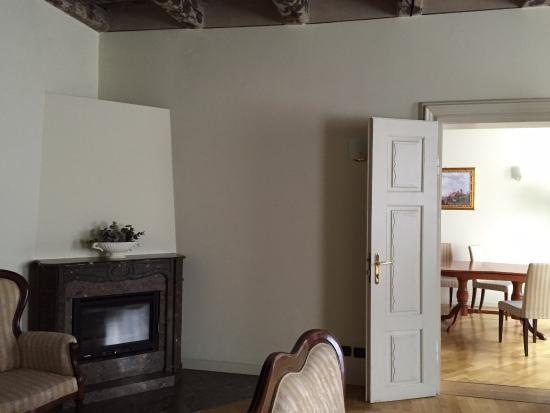 Hotel Residence Retezova: Гостиная