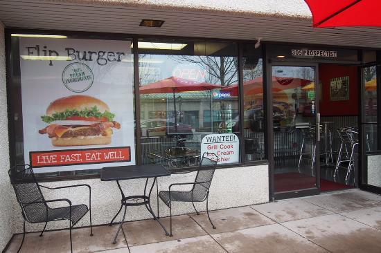 Flip Resturent Flip-burger