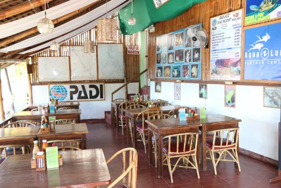 Badladz Restaurants Seating Area In Dive Resort