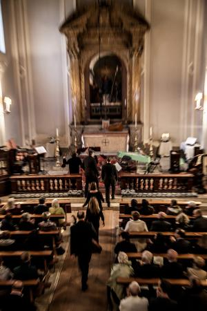 Venice Music Project : Nuova Sede - Chiesa Anglicana di St. George