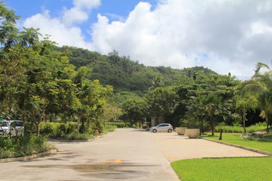 Kempinski Seychelles Resort: Hotel location