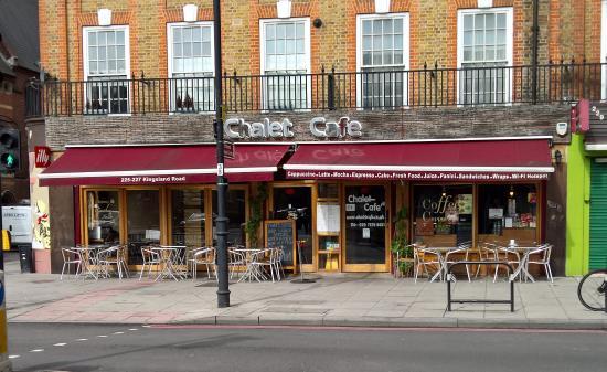 Chalet Cafe Kingsland Road