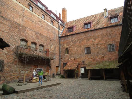 Ketrzyn, Polonia: Внутренний двор замка