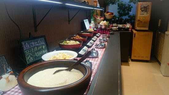 Super Hotel Aomori: ブッフェ