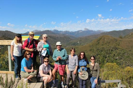 Tasmanien, Australien: Frenchmans Cap in Background