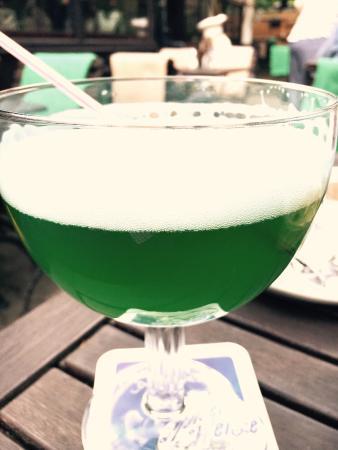 Restaurant Scheune: Berliner weisse grün