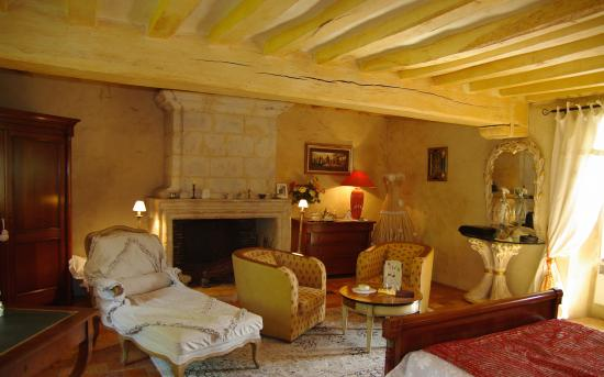 Saint-Brice, France: chambre suite
