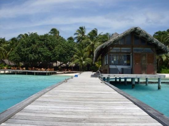 Остров Курамати: Arrival view