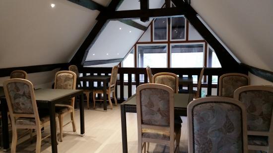 Thury-Harcourt, Francja: salle de restaurant