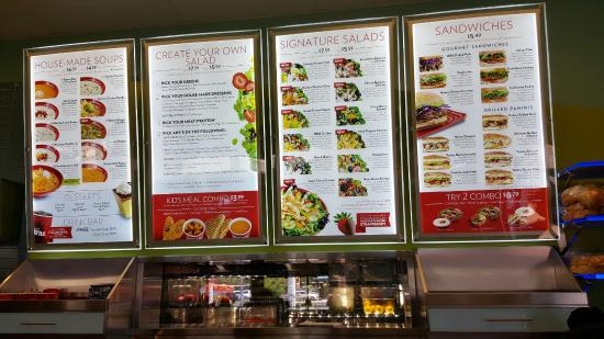 Menu Picture Of Cafe Zupas Henderson Tripadvisor