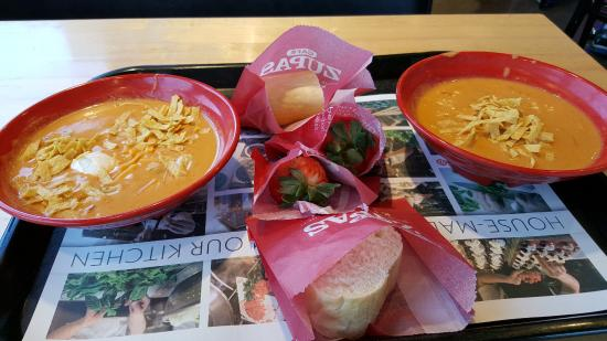 Chicken Enchilada Soup Picture Of Cafe Zupas Henderson Tripadvisor