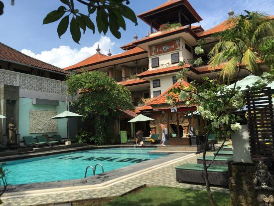 Pool and courtyard - This photo of La Walon Hotel, Bali is courtesy of TripAdvisor