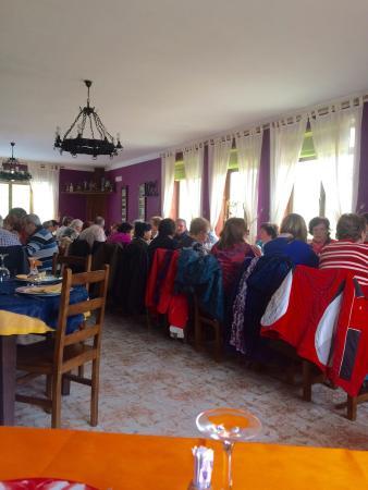 Somiedo Municipality, Spain: Vista general del restaurante.