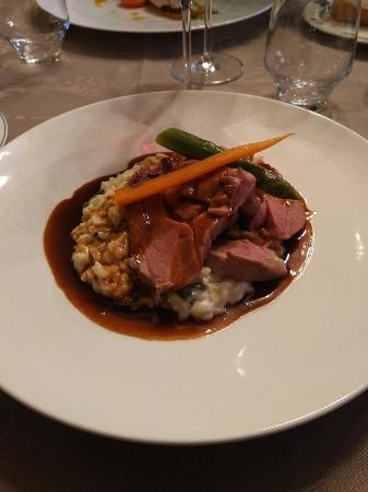L'Ecusson Le restaurant du Manoir Hôtel : Diner et digestif a l Ecusson