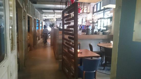 Keuken Modern Open : Mooi restaurant modern stijlvol met open keuken picture of