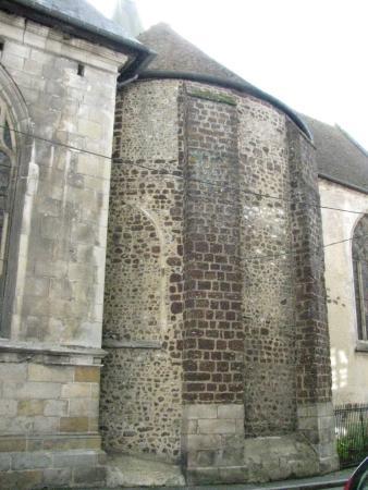 Eglise Saint-Martin de L'Aigle: eglise Saint Martin abside antica