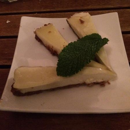 Opium : lemon cheesecake