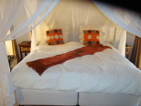 Zululand Safari Lodge: Super-comfy bed!