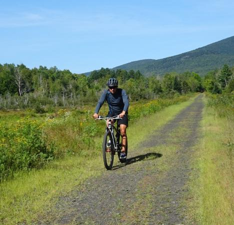 Gorham, NH: Biking with nature, peace and quiet, and scenic views