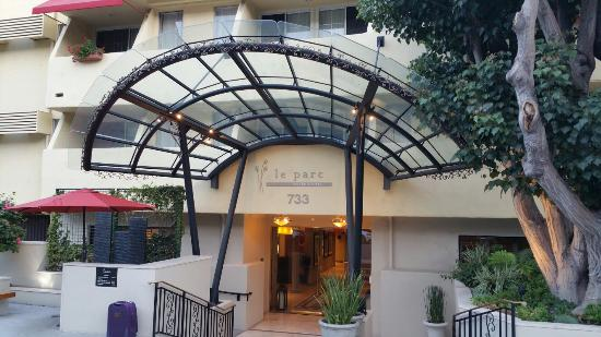 Image result for Le Parc Suite Hotel Los Angeles