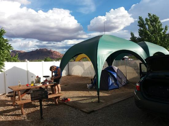 Moab Valley RV Resort & Campground: 20160518_184445_large.jpg
