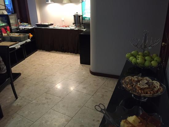 Hotel da Bolsa: una parte di buffet