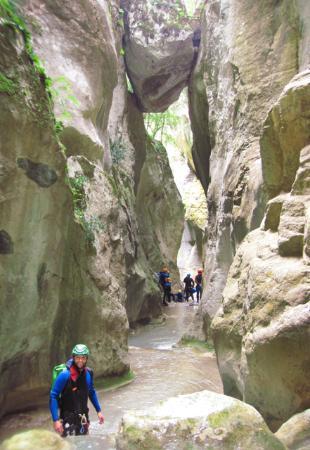 Cailla, Frankrig: Canyoning dans les Pyrénées