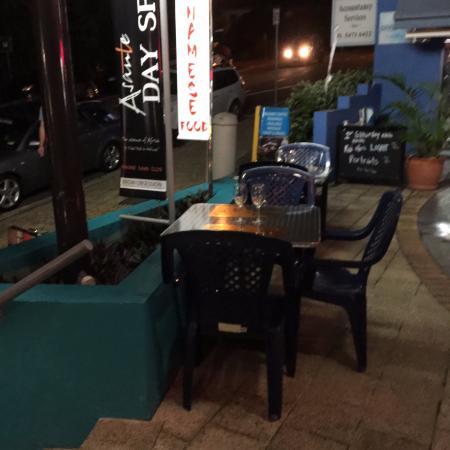 Coolum Beach, Australia: dining