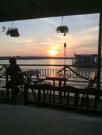 Balcony - Augie's Sunset Cafe Photo