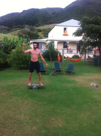 Having fun at the endless summer lodge