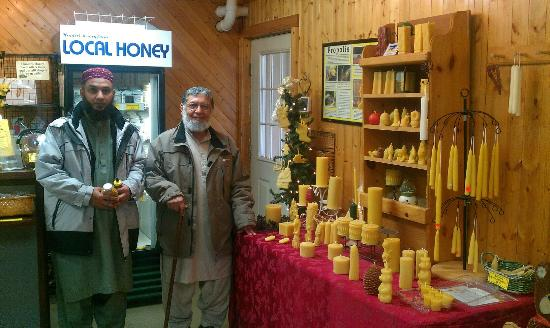 Martinsville, IN: The wax candles and other products