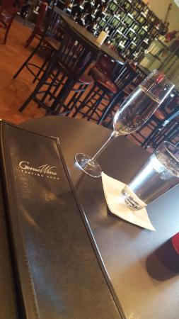 Magnolia, Τέξας: Refreshing glass of Moscato