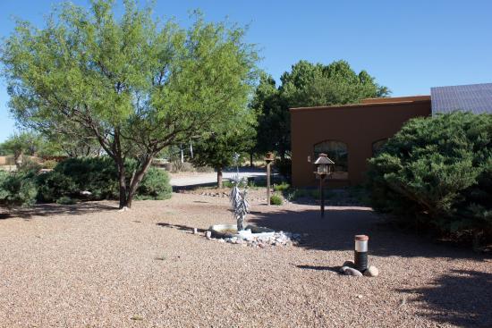 Hereford, AZ: View of feeding area.