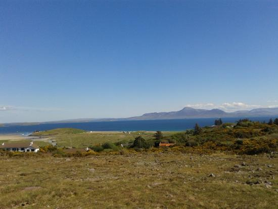 Mulranny, Irland: Coragh Partick from the loop walk on Lookout Hill.