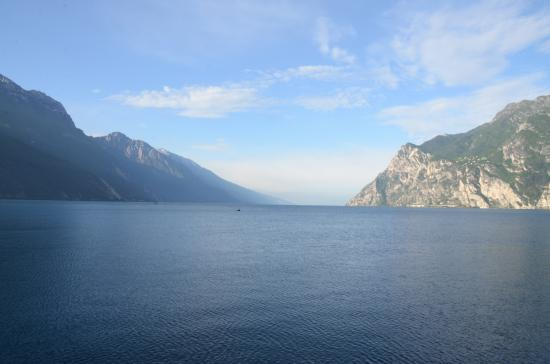 View of Lake Garda close to the Hotel