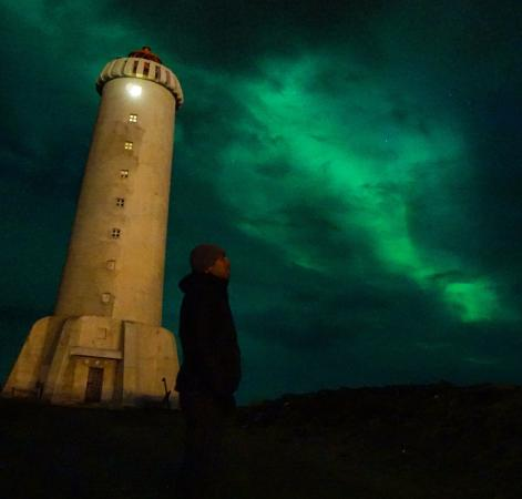 Akranes, IJsland: Northern Lights Spectacle
