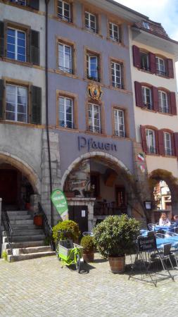 บีล, สวิตเซอร์แลนด์: Restaurant Pfauen