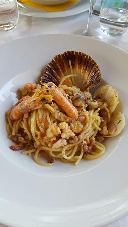 Gruaro, Italien: Spaghetti ai frutti di mare