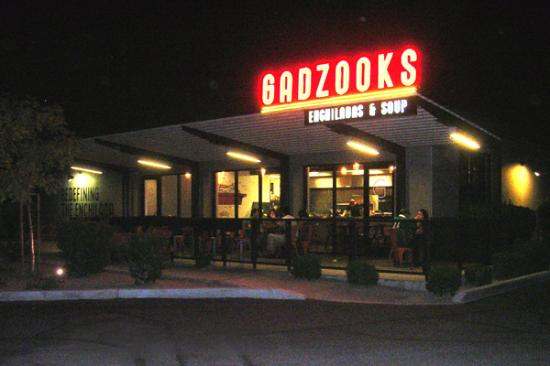 Gadzooks Enchiladas U0026 Soup: Open Patio With Water Spray Cooling, At The  Corner Of
