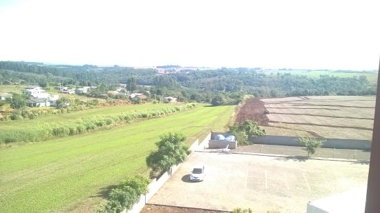Santa Rosa, RS: vista do hotel