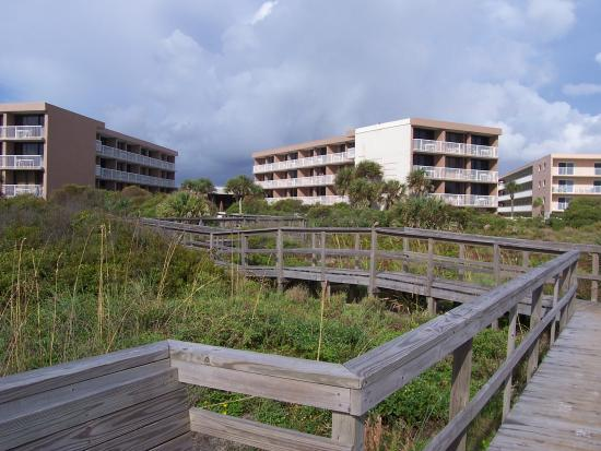 The Beach Club at St Augustine: Walk Way to the beach