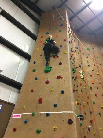 Middletown, NJ: First Climb of the day!