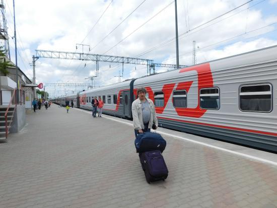 Mineralnye Vody, Rusland: На вокзале единственная в Минводах камера хранения