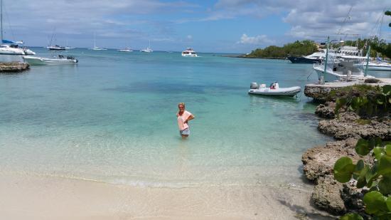 Bayahíbe, República Dominicana: die Bucht genau gegenüber